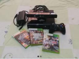 Xbox 360 Original + Hd 250 Gigas + 8 Jogos + Kinect