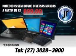 _Notebook Seminovos a partir de 899 - com garantia