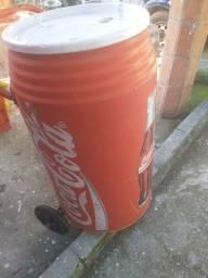 Cooler antigo De praia Coca cola anos 80