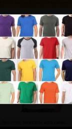 Kit 6 camisas masculinas