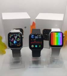 relógio smartwatch iwo w46 original tela infinita + película grátis