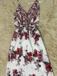 Vestido novo florido