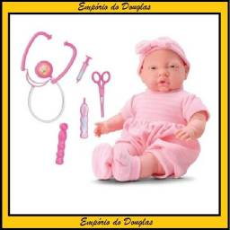 Boneca Doutora Baby Kit Médico Brinquedo (entrega imediata!!!)
