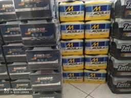 Promoção bateria kondor zetta e Moura