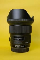 Sigma 24mm 1.4 Art para Canon