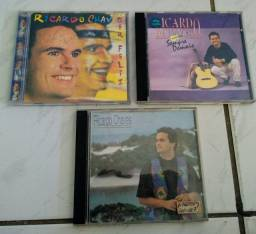 3 CDs originais antigos Ricardo Chaves