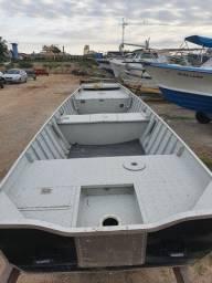 Barco de alumínio novinho / motor Mercury 15HP Super