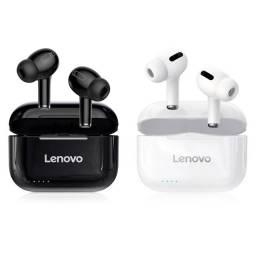 Fone Lenovo Livepods LP1s Preto ou Branco Bluetooth 5.0 Original Novo