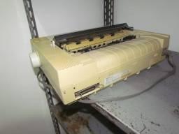Impressora matricial funcionando