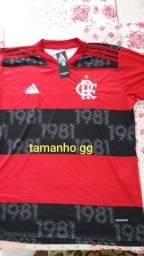 Camisa Flamengo tamanho GG