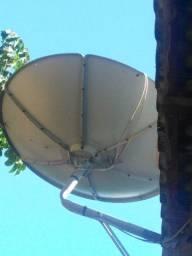 Vendo essa antena nova da sky