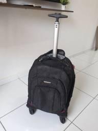 Mala/mochila Santino c/rodinhas 100,00