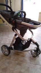 Carrinho com Bebê Conforto Mobi Travel System - Safety 1st<br><br>- (Semi Novo)