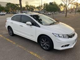 Honda Civic EXR 2.0 2014 flex top de linha - IPVA 2021 pago - ac trocas