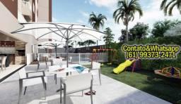 Apartamento em Goiânia, 2Q (1Suíte), 55m2, Garagem, Lazer Completo! Parcela.