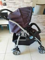 Carrinho de bebê  Burigotto Preto