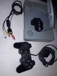 Playstation 1 Fat com controle PS1