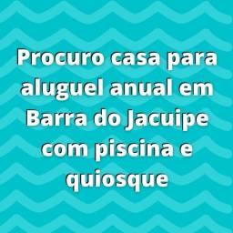 Procura casa para aluguel anual em Barra do Jacuipe