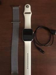 Smartwatch Iwo12 44Mm Serie 5 Relógio Inteligente Branco