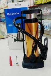 Mini bomba para encher pneu de carro moto bike baloes e bolas, produto novo $85,00
