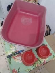 Kit caixa de areia / potinhos