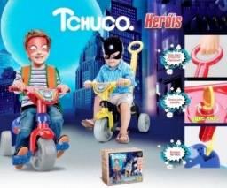 Triciclo tchuco super herois