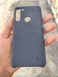 Capinha tipo Case de iPhone Moto g8 normal