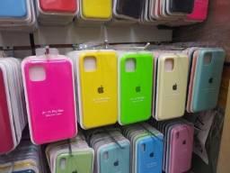 Capa Capinha Case de Silicone Iphone aveludada por dentro, todos os modelos