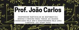 Aulas Particulares - Professor de Matemática