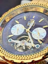 Relógio Oyawei dourado original