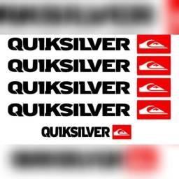 Adesivo para moto Quiksilver