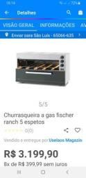 CHURASQUEIRA FISCHER 5 ESPETOS