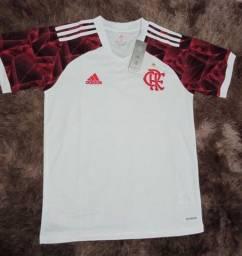 Nova Camisa Flamengo Branca - 95,00 Reais