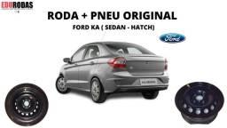Roda Original Estepe Ford ka ( hatch . Sedan ) R:14 F:4x108