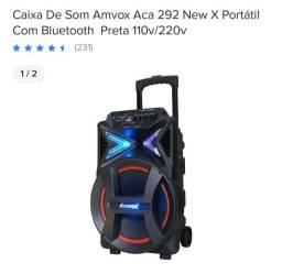 Som potente novo 520 reais