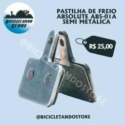 Pastilha de Freio Absolute ABS-01A Semi Metálica
