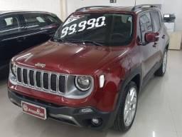 Jeep Renegade 1.8 16v Flex Limited 4p Automático Ano: 2018 2019 Cor: Vermelho