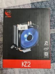 Cooler de processador Blue Led Kz2 - Pcyes