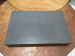 Switch 16 Portas Ethernet Switch D-link Des-1016d