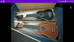 Super oferta ukulele soprano novo na caixa ukulele acústico novo na caixa