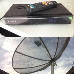 Antena com 3 receptores