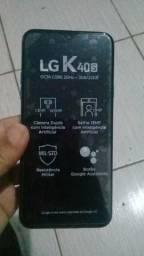 LG K 40s Lançamento