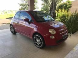 Lindo e Barato - FIAT 500 Sport 2010 baixa km - mais barato que 1.0 - 2010