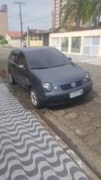 Polo Hatch Cinza 2004 1.6 M.i Completo - 2004