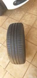 """Troco 1 pneu """"Michelin"""" 195/55/16 por um par de 6×9"""