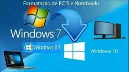 Assistência em notebook, PC e rede