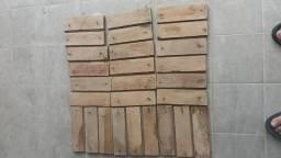 Tacos de madeira