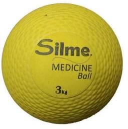 Bola Silme Medicine Ball 3 KG amarela
