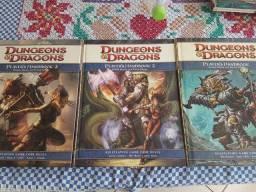 D&D 4 edição, livro do jogador 1,2,3 - EN