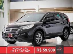 Honda CR-V LX 2.0 16V 2WD Mec. 2012 Gasolina